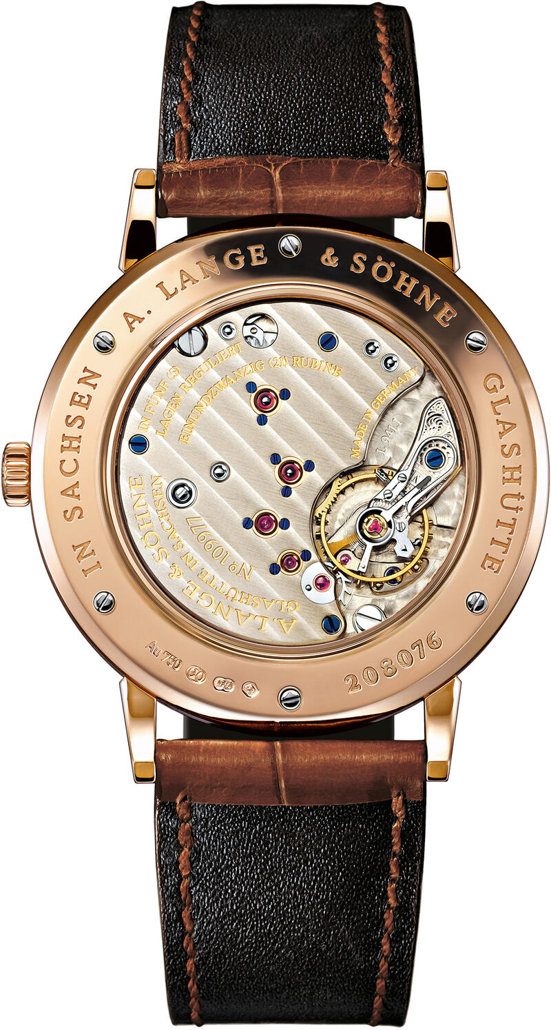 A. Lange & Söhne-A. Lange & Söhne Saxonia Pink Gold With Dial In Argenté-219.032_2
