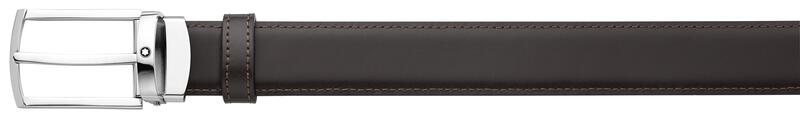 Montblanc -Montblanc Black/brown reversible cut-to-size business belt 123889-123889_2
