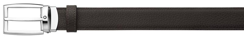 Montblanc -Montblanc Brown/gray reversible cut-to-size business belt 123900-123900_2