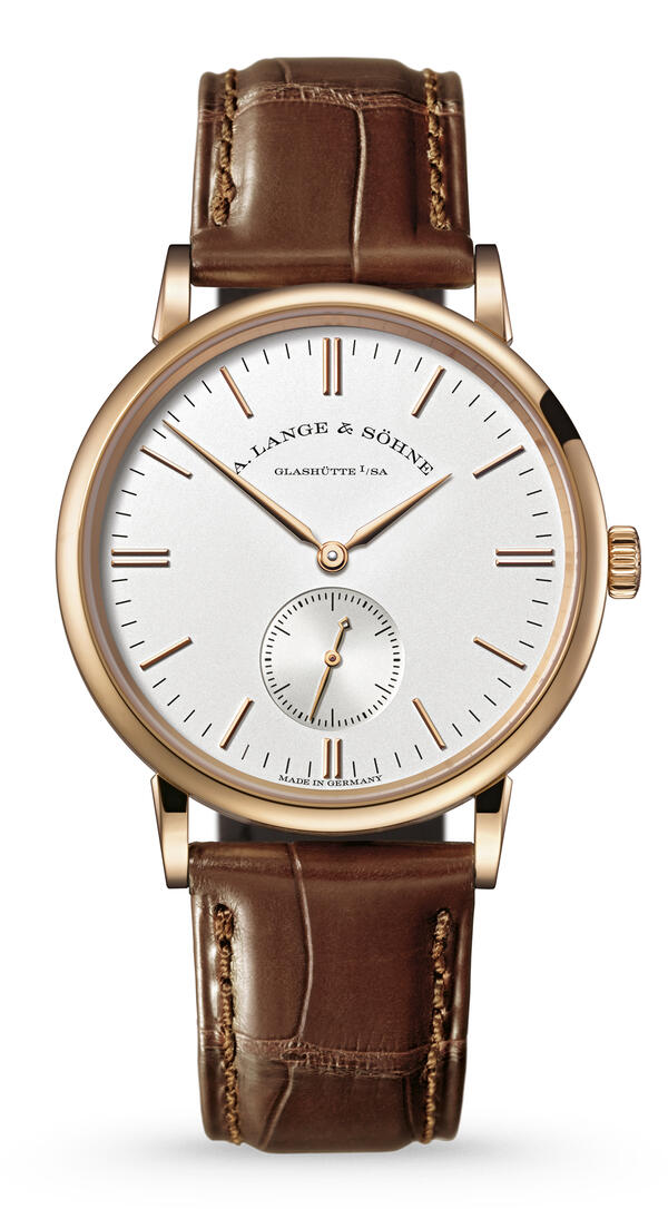 A. Lange & Söhne-A. Lange & Söhne Saxonia Pink Gold With Dial In Argenté-219.032_1